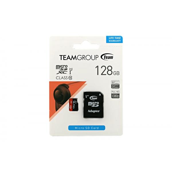 Card Team MicroSD C10 128GB 0