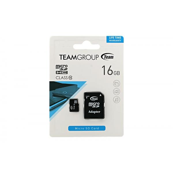 Card Team MicroSD C10 016GB 0