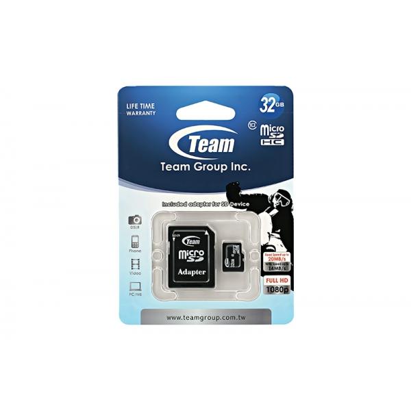 Card Team Micro SD Clasa10 32GB  0