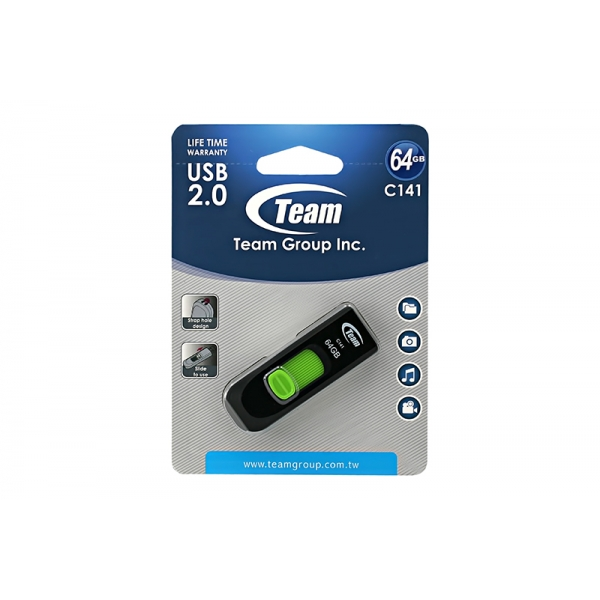 USB Team C141 64GB USB2 0
