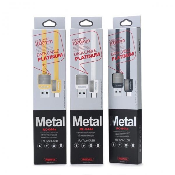 CABLU REMAX PLATINUM RC-044m MICRO USB , WHITE [0]