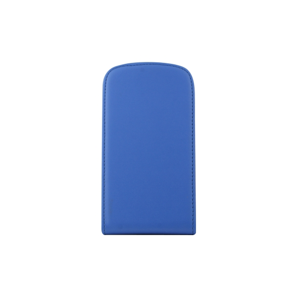 Toc Hard Flip Samsung Galaxy S4 i9500 Albastru 0