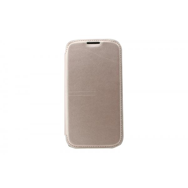 Toc Book Samsung Galaxy S4 I9500 Auriu [0]
