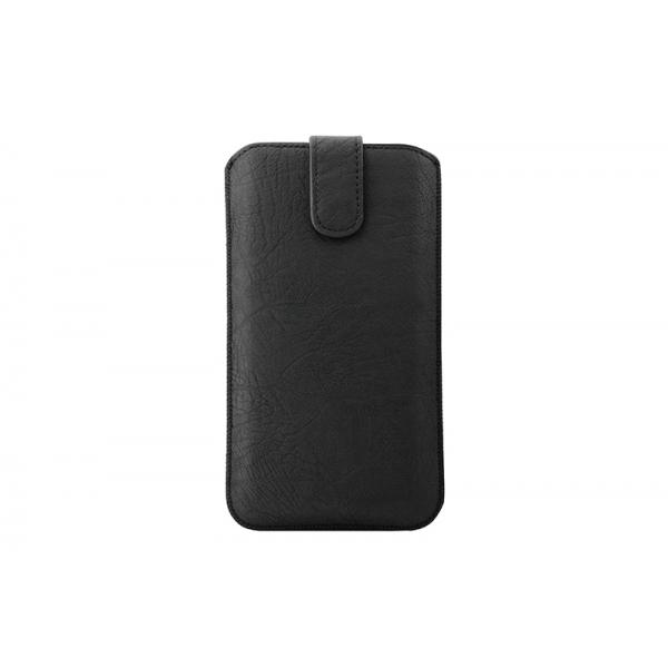 Toc Rustic Samsung Galaxy Note 2/3/4 Negru [0]