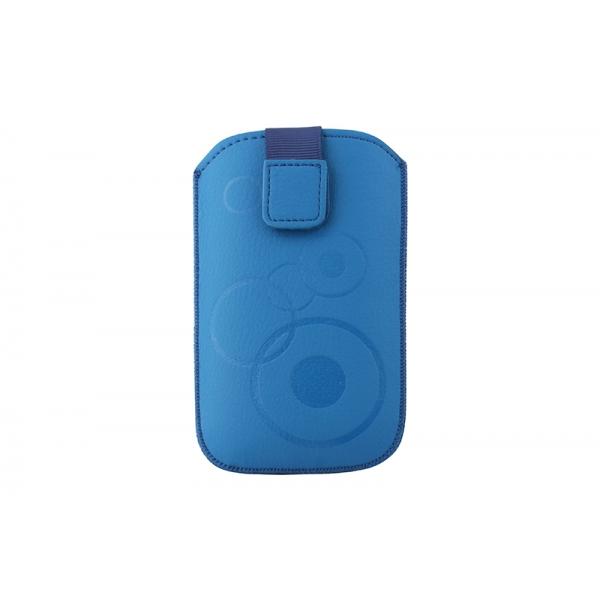 Toc Slim iPHONE 4/Samsung Ace Albastru [0]
