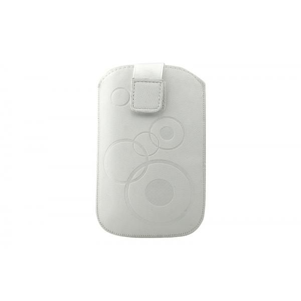 Toc Slim iPHONE 4/Samsung Ace Alb 0