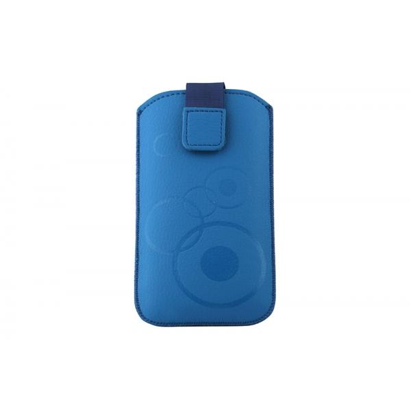 Toc Slim iPHONE 5/5S/5C Albastru 0