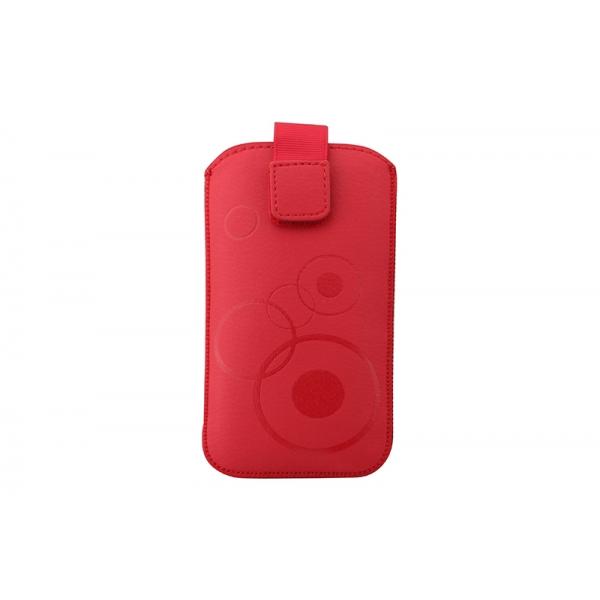 Toc Slim iPHONE 5/5S/5C Rosu 0