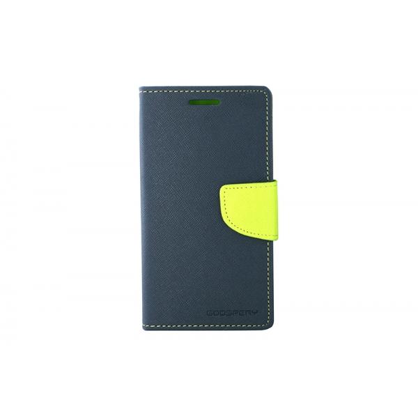 Toc My-Fancy Samsung Galaxy S4 I9500 Albastru/Lime 0