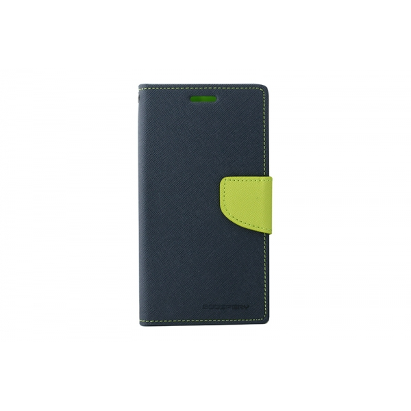 Toc My-Fancy Samsung Galaxy S6 Edge G925 Albastru/Lime 0