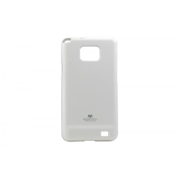 Husa My-Jelly Samsung Galaxy S2 I9100 Alb 0