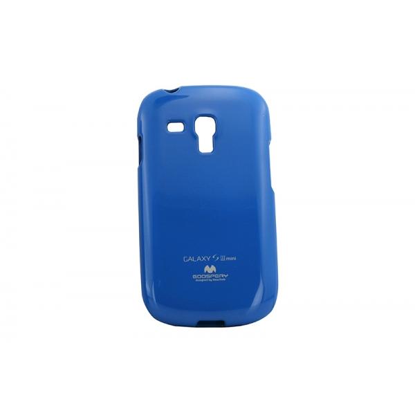 Husa My-Jelly Samsung Galaxy S3 Mini I8190 Albastru 0
