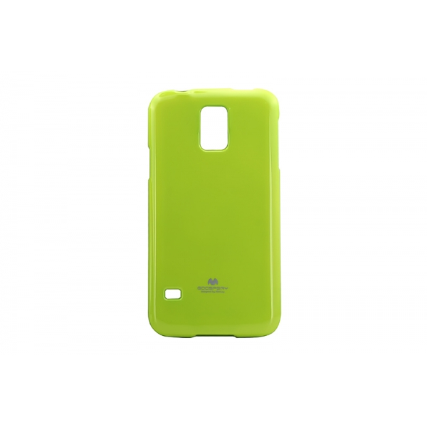 Husa My-Jelly Samsung Galaxy S5 G900 Lime 0