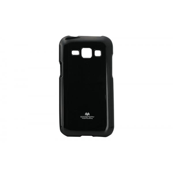 Husa My-Jelly Samsung Galaxy J1 J100 Negru [0]