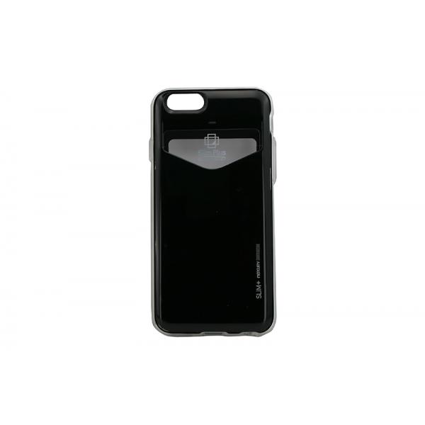 Husa My-SlimPlus iPHONE 6/6S Negru 0