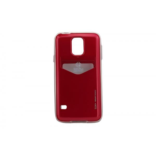 Husa My-SlimPlus Samsung Galaxy S5 G900 Rosu 0