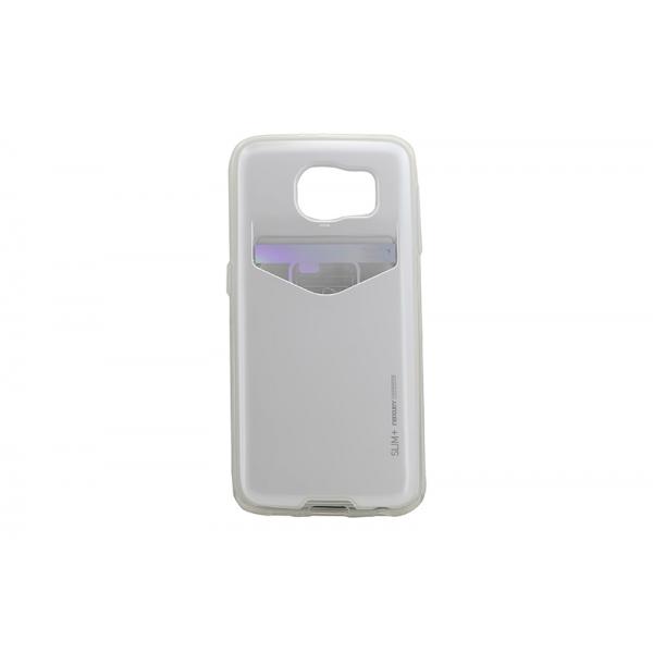 Husa My-SlimPlus Samsung Galaxy S6 G920 Alb [0]
