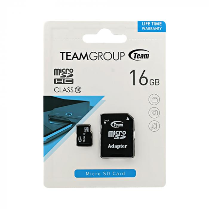 Card Team MicroSD C10 016GB 1