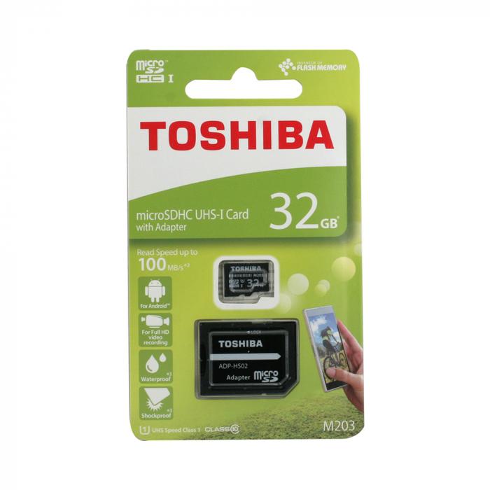 Card Toshiba MicroSD C10 032GB 1