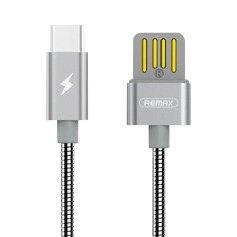CABLU REMAX SILVER SERPENT RC-080m MICRO USB, SILVER [0]