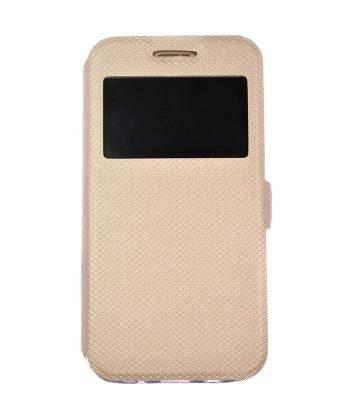 Husa carte Samsung A50 gold 1