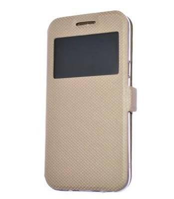 Husa carte Samsung A50 gold 0