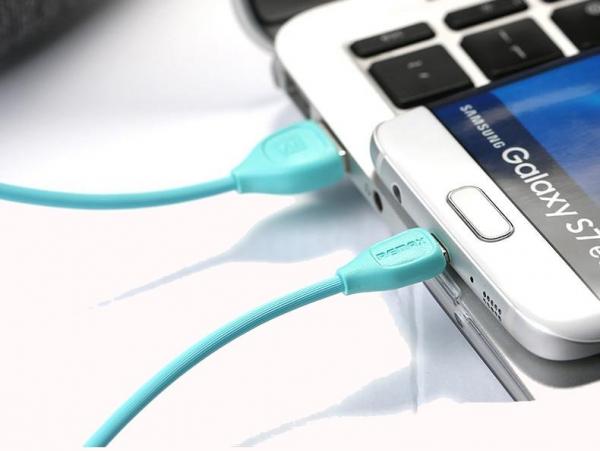 CABLU MICRO USB REMAX LESU RC-050 WHITE [0]