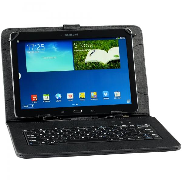 "Husa Tableta universala 7"" cu tastatura 6"