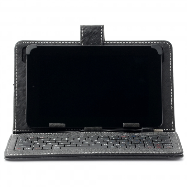 "Husa Tableta universala 7"" cu tastatura 1"