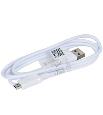 Cablu SAMSUNG MICRO USB FAST CHARGING ECB-DU4AWE orig. white bulk [0]