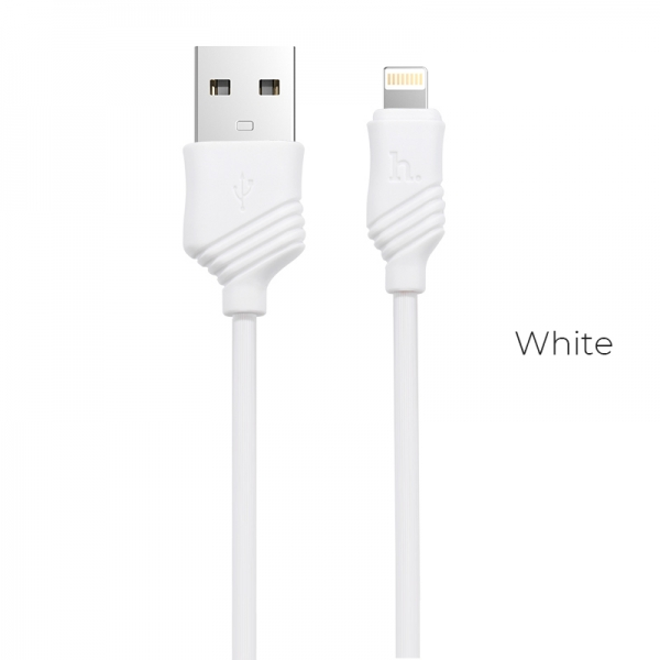CABLU HOCO X6 KHAKI LIGHTNING, WHITE 1