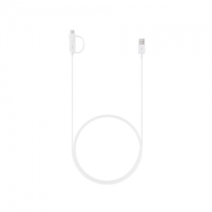 CABLU 2IN1 MICRO USB / TYPE C SAMSUNG EP-DG930DW 150cm WHITE ORIG. BULK [2]