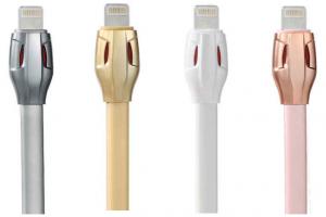CABLU MICRO USB REMAX BRELOC TESSLES RING RC-053M, NEGRU [1]
