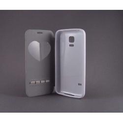 "Husa S-View ""LOVE"" Samsung GALAXY S5 Mini2"