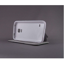 "Husa S-View ""LOVE"" Samsung GALAXY S5 Mini4"
