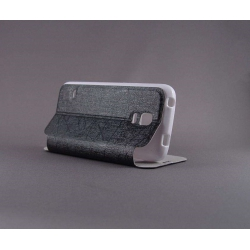 "Husa S-View ""LOVE"" Samsung GALAXY S5 Mini3"