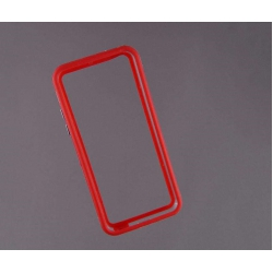 Bumper husa protectie iPhone 5C margine silicon ROSU2