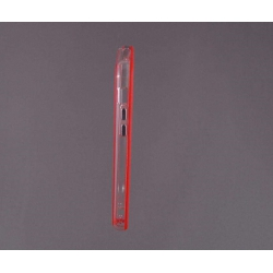 Bumper husa protectie iPhone 5C margine silicon ROSU3