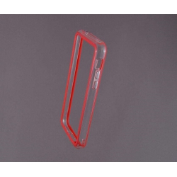 Bumper husa protectie iPhone 5C margine silicon ROSU0