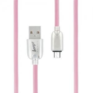 CABLU BEEYO TRENDY MICRO USB, PINK [1]