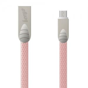 CABLU BEEYO FLAT MICRO USB, PINK1