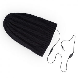 HANDSFREE WINTER HAT BLACK DIAMONDS1