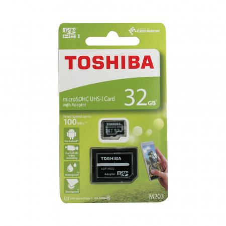 Card Toshiba MicroSD C10 032GB1