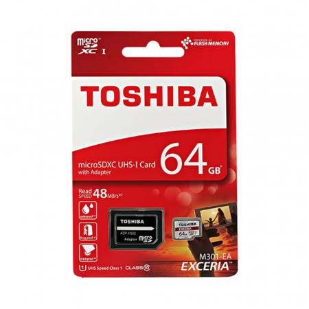 Card Toshiba MicroSD C10 064GB1