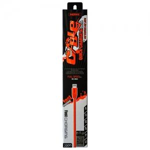 CABLU REMAX FULL SPEED FLAT RC-001m MICRO USB 200cm, WHITE1