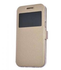 Husa carte Samsung A50 gold0