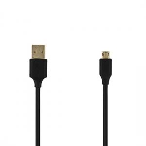 CABLU MICRO USB (REVERSIBIL) 100cm, BLACK [1]