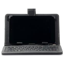 "Husa Tableta universala 7"" cu tastatura1"