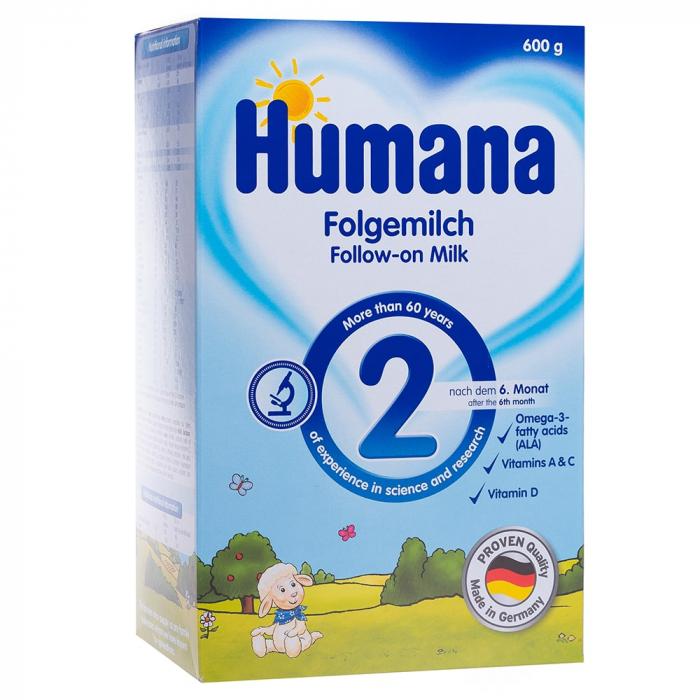 Humana 2, 600gr - Lapte praf 2-6 luni [0]