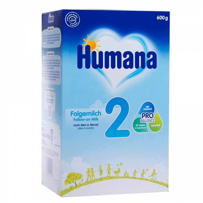 Humana 2 PRO BALANCE 600gr - Lapte praf 6+ luni [0]
